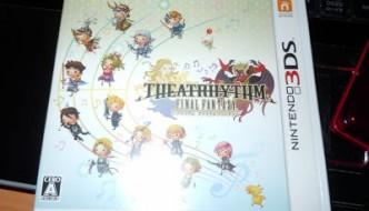 Final Fantasy theatrhythm llega a mi vida!