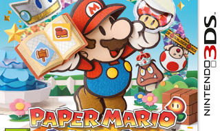 Fichas de Nintendo 3Ds: Paper Mario Sticker Star