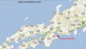 PARQUE ESPAÑA en Japón