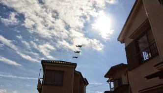 Exhibición aérea en IRUMA AIR BASE