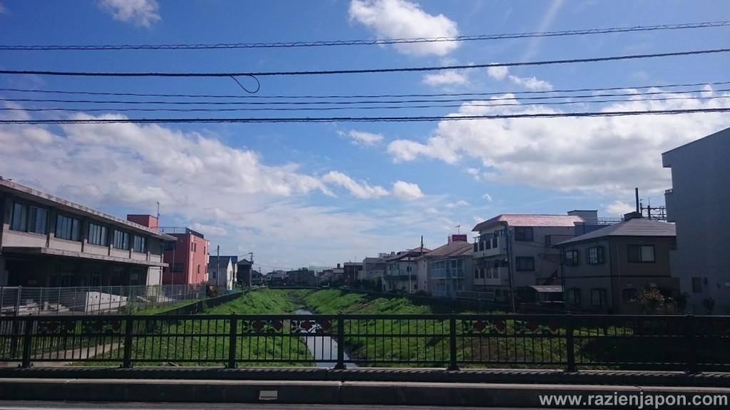 Estaba muy chulo el cielo de Saitama hoy