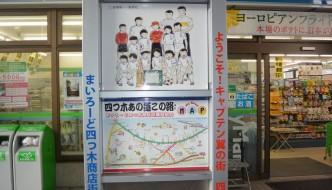 YOTSUGI, el barrio de OLIVER Y BENJI
