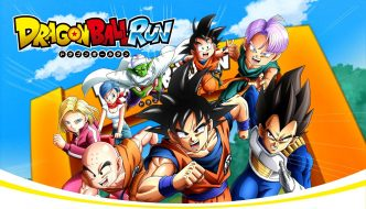 DRAGON BALL RUN: Corriendo con Goku y Vegeta